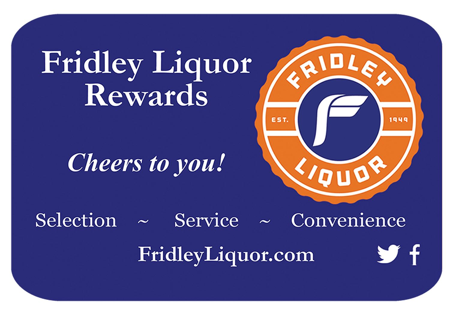 Fridley Liquor Rewards