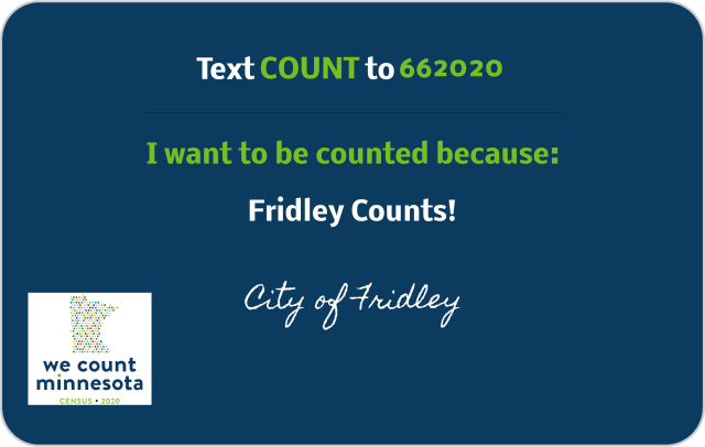 Fridley Census Tect Help Desk Graphic