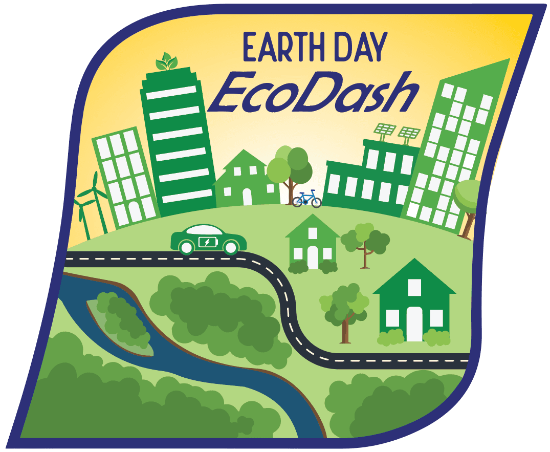 Earth Day EcoDash logo
